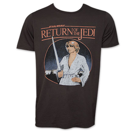 Star Wars Junk Food Brand Luke & The Return Of the Jedi Shirt