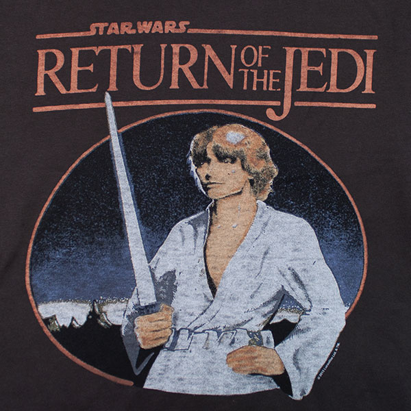 Star Wars Junk Food Brand Return Of the Jedi Shirt