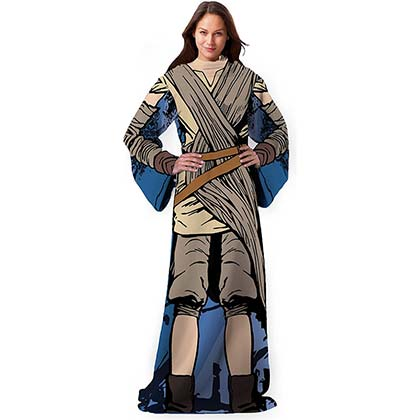 Star Wars Being Jakku Rey Adult Snuggie