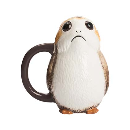 Star Wars Sculpted Porg Premium Coffee Mug