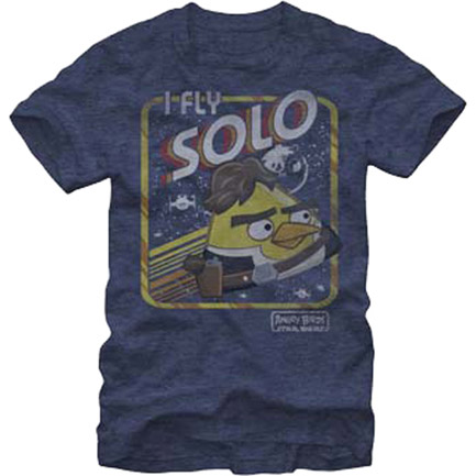 Star Wars X Angry Birds I Fly Solo TShirt