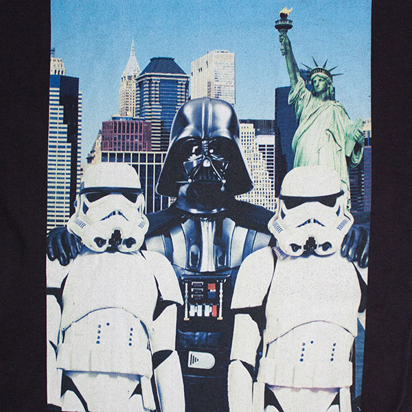 Star Wars Busy Touring New York T-Shirt