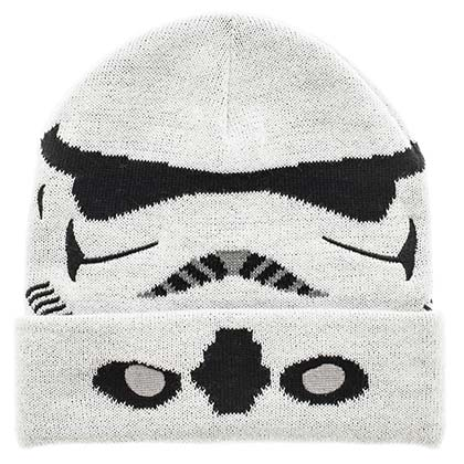 Star Wars Winter Mask Stormtrooper White Beanie