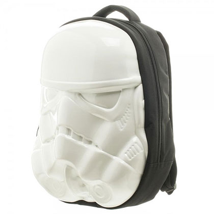 Star Wars White Stormtrooper Molded Helmet Backpack