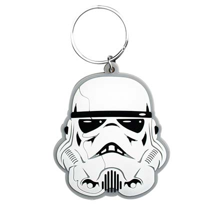 Star Wars White Stormtrooper Keychain