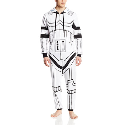Star Wars White Stormtrooper Adult Jump Suit