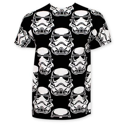 Star Wars Stormtrooper Men's Glow In The Dark T-Shirt