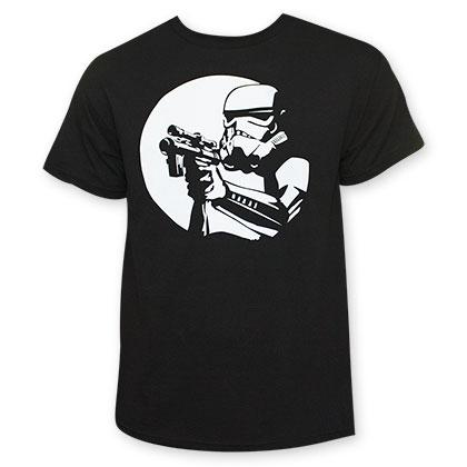 Star Wars Stormtrooper Moonlight Black T-Shirt