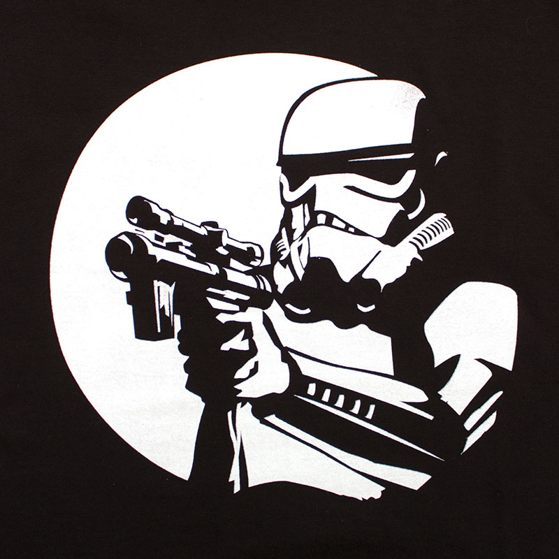 Star Wars Men's Moonlight Stormtrooper Tee Shirt