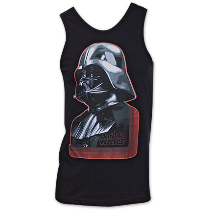 Star Wars Darth Vader Helmet Tank Top