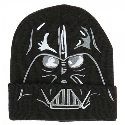 Star Wars Winter Mask Darth Vader Black Beanie