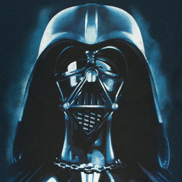 Star Wars Men's Darth Vader Jumbo Helmet TShirt