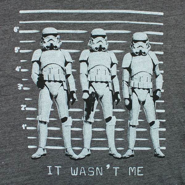 Star Wars Junk Food Brand It Wasn't Me Shirt