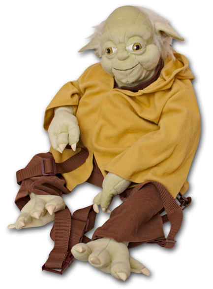 Star Wars Yoda Plush Backpack Buddy