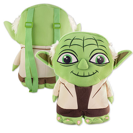 Star Wars Yoda Cartoon Backpack