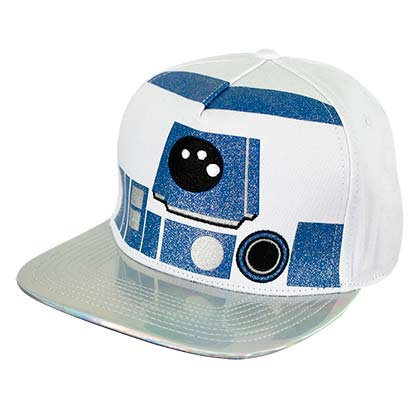 Star Wars Flat Bill Holographic R2D2 Hat