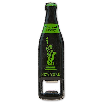 New York Statue of Liberty Magnetic Bottle Opener