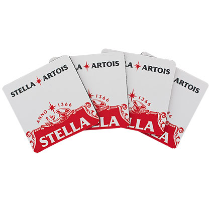 Stella Beer Coaster 4 Pack