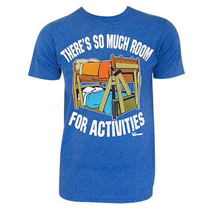 Step Brothers Men's Blue Room For Activities T-Shirt