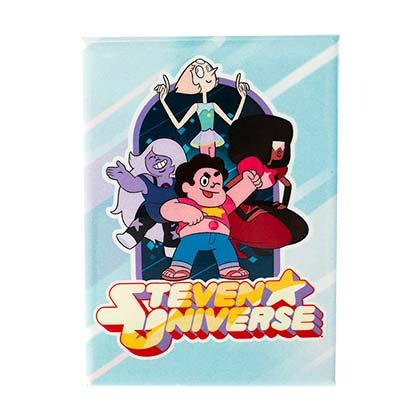 Steven Universe Blue Logo Magnet