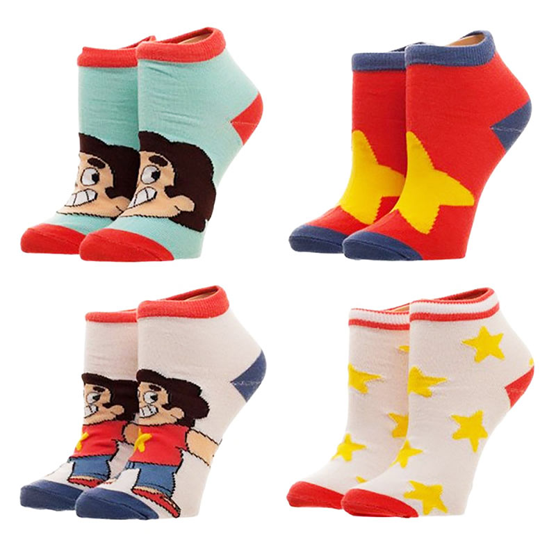 Steven Universe Youth Socks Set Of 4