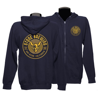 Stone Brewing Criterion Zip Hoodie