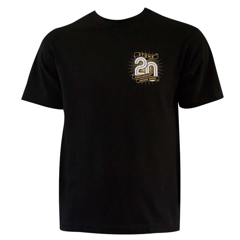 Stone Brewing Co. Men's Black Encore T-Shirt