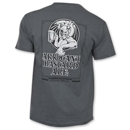 Stone Brewing Arrogant Bastard Classic Devil w/Mug T-Shirt