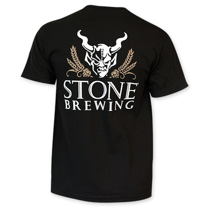 Stone Brewing Co. Arrogant Bastard 4.0 Men's Black Tee Shirt