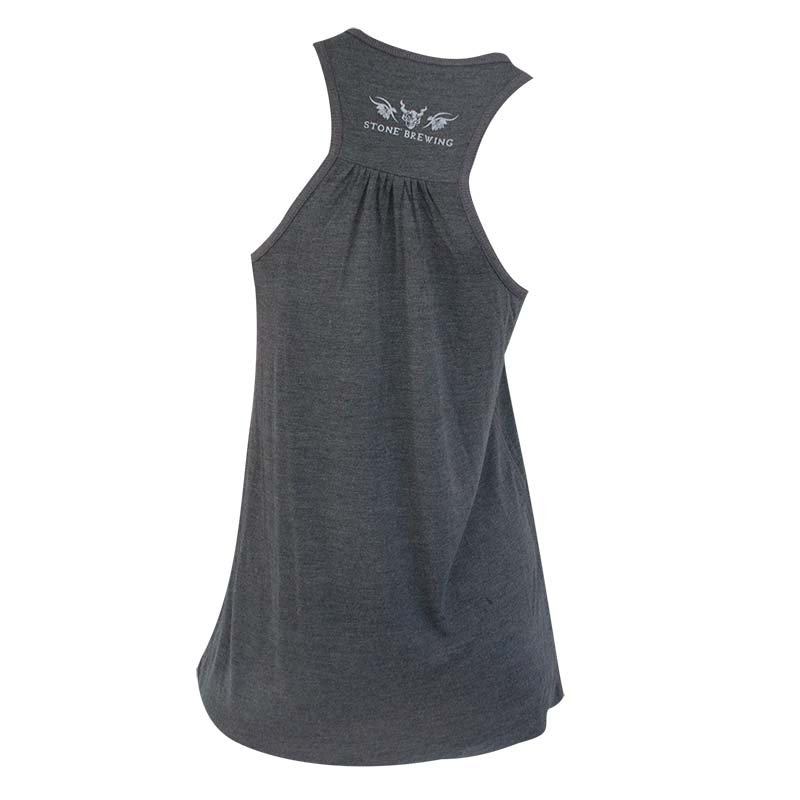 Stone Brewing Co. Women's Grey Girl Forevermore Racerback Tank Top
