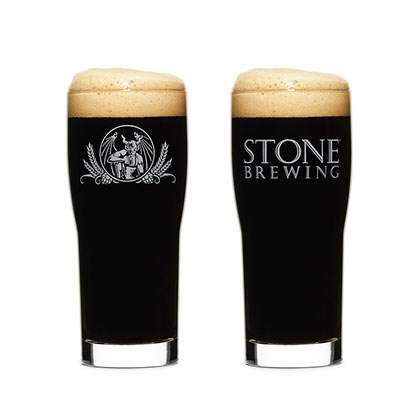 Stone Brewing Co. Core Pint Glass
