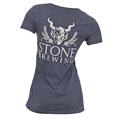 Stone Brewery Beer Womens Girl V Neck Shirt