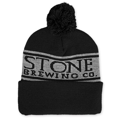 Stone Brewing Co. Black Winter Hat