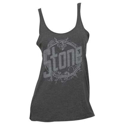 Stone Brewing Co. Women's Grey Revolution Tank Top
