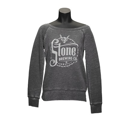 Stone Brewing Womens Slouchy Sweatshirt