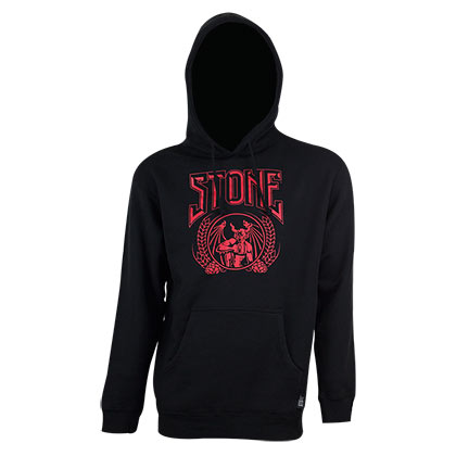 Stone Brewing Men's Black Crusher Pullover Hoodie