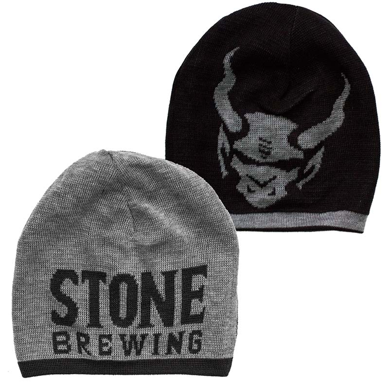 Stone Brewing Reversible 20th Anniversary Slouch Beanie