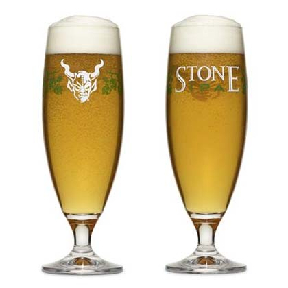 Stone Brewing Co. India Pale Ale Specialty Tall Glass