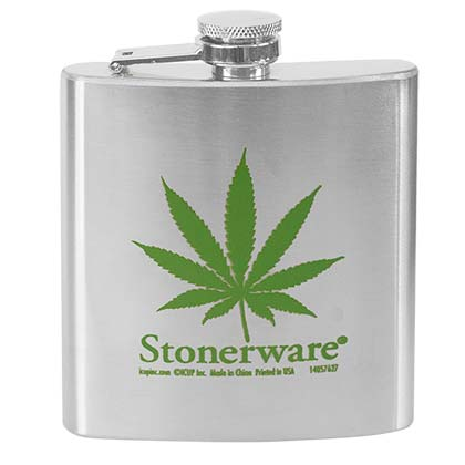 Stonerwear Leaf Liquid Flask