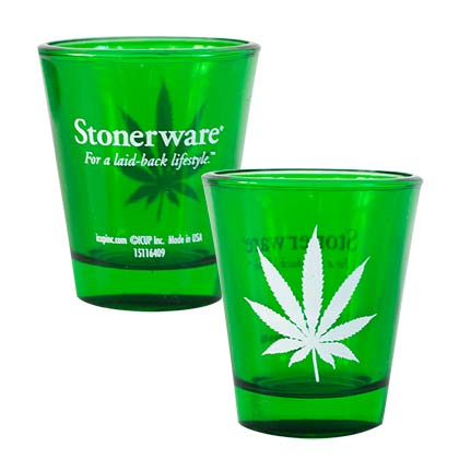 Stonerwear Leaf Shot Glass
