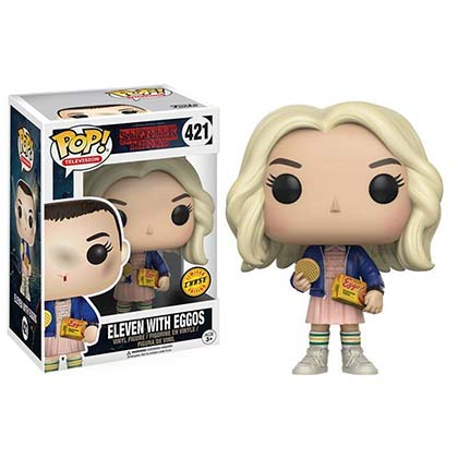 Stranger Things Limited Chase Edition Blonde Eleven Funko Pop Vinyl Figure