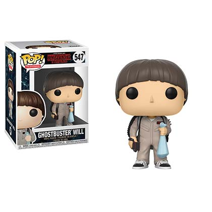 Stranger Things Ghostbuster Will Funko Pop Vinyl Figure