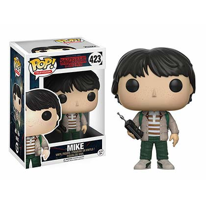 Stranger Things Mike Walkie Talkie Funko Pop Vinyl Figure