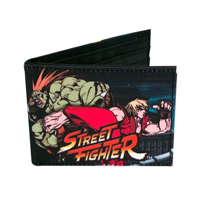 Street Fighter Logo Bi-Fold Sublimated Wallet