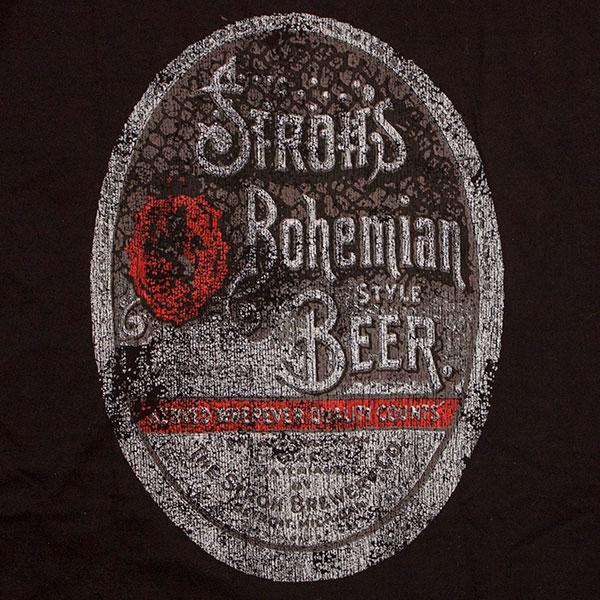Stroh S Beer Logo Vintage Men S Shirt
