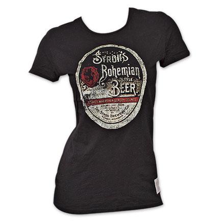 Stroh's Beer Vintage Women's Shirt