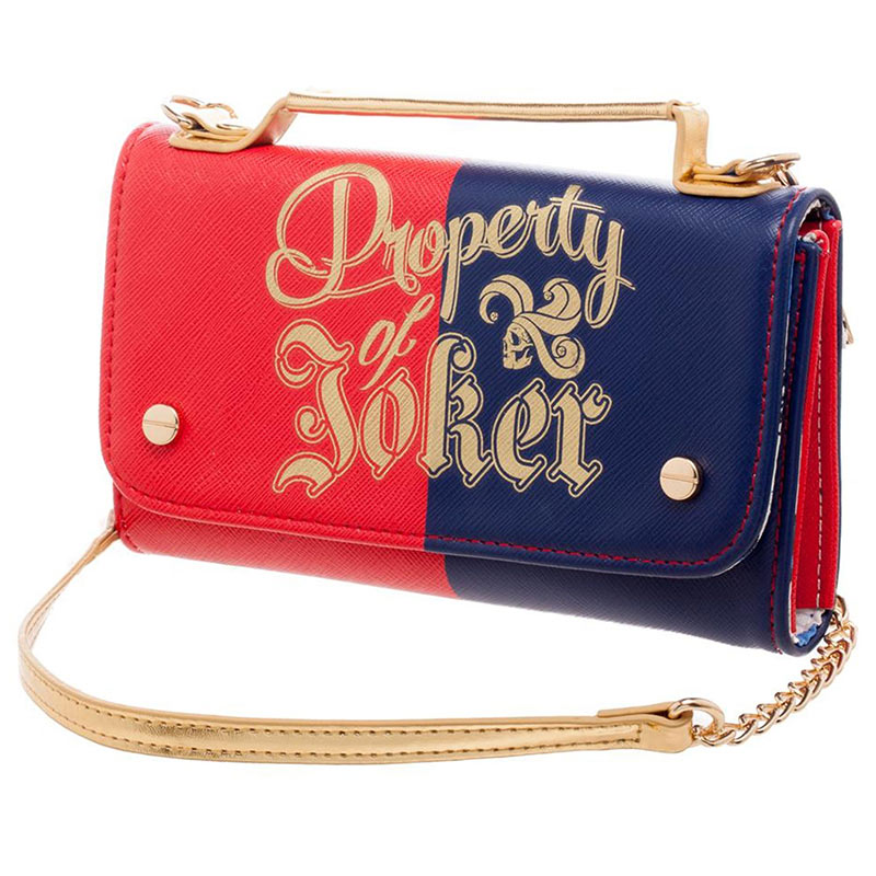 Suicide Squad Harley Quinn Property Of Joker Clutch Bag