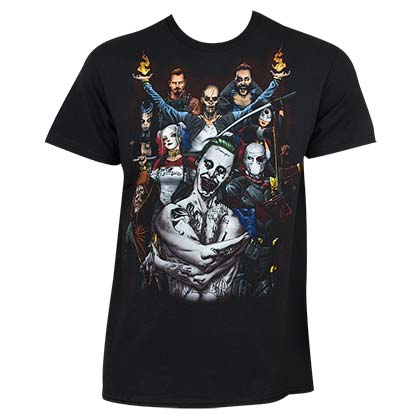 Suicide Squad Black Group Shot Men's T-Shirt