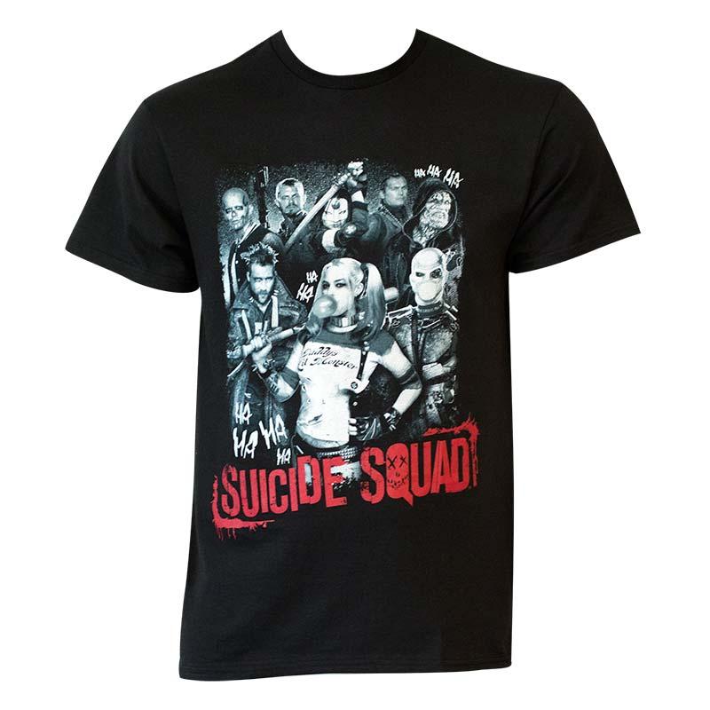 Suicide Squad Men's Montage T-Shirt