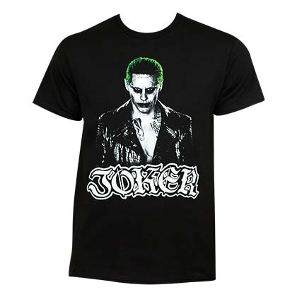 Suicide Squad Men's Black Joker T-Shirt
